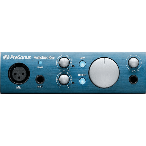 PreSonus AudioBox iOne 2x2 USB/iPad Recording System