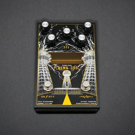 Third Man Records / Gamechanger Audio Plasma Black Coil Pedal