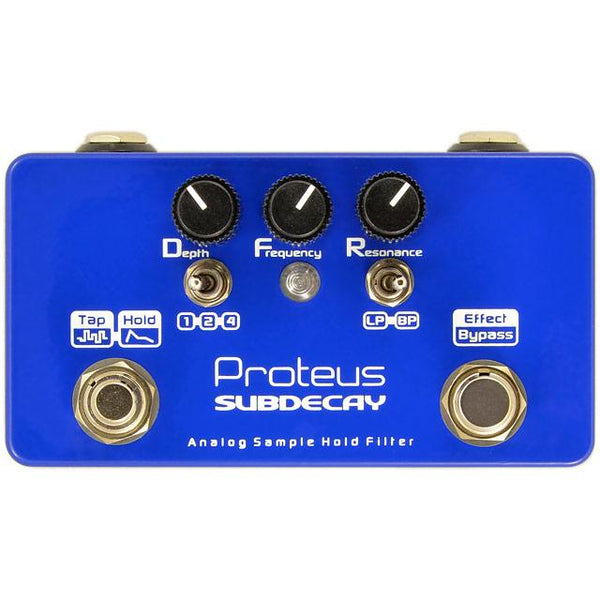 Subdecay Proteus Sample Hold filter