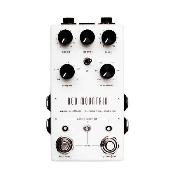 Swindler Effects RED MOUNTAIN TREMOLO - V2