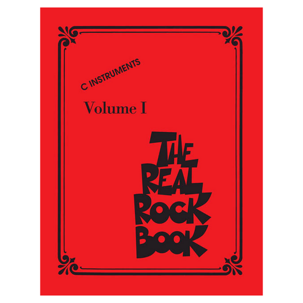 Hal Leonard Real Book Series The Real Rock Book – Volume I C Instruments