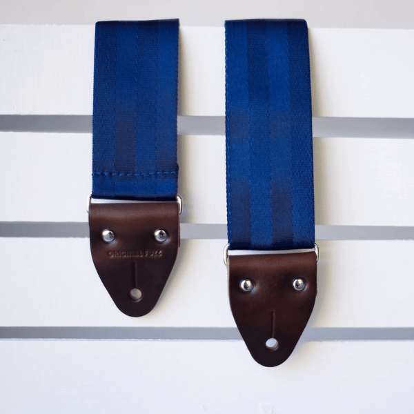 Original Fuzz Seatbelt Guitar Strap in NAVY / Sound Parcel Exclusive