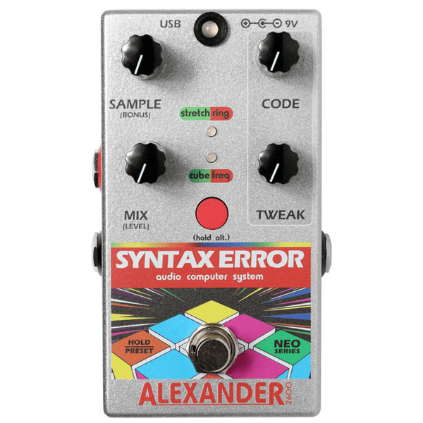 Rent Alexander Syntax Error