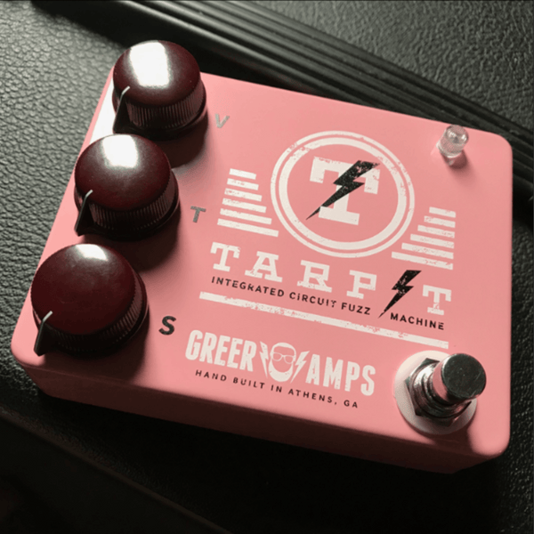 Greer Amps Tarpit Fuzz Limited Edition Pink **PRE-ORDER**