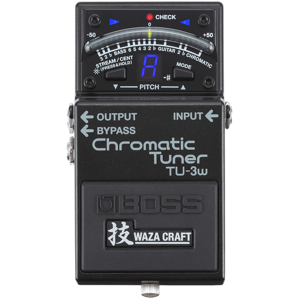 Boss TU-3w Chromatic Tuner Waza Craft Special Edition