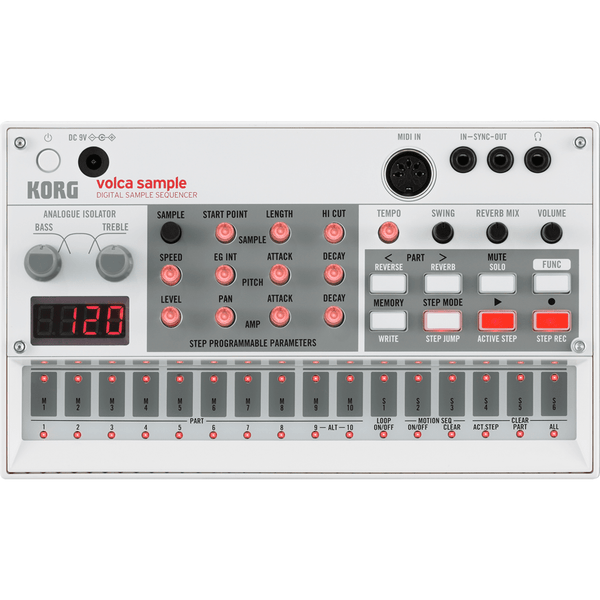 Rent Korg Volca Sample Digital Sample Sequencer