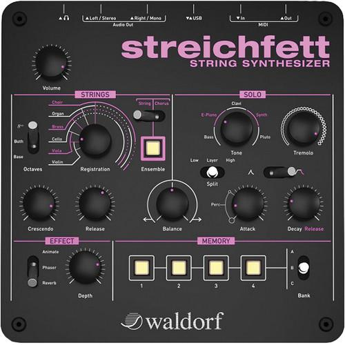Rent Waldorf Streichfett String Synthesizer