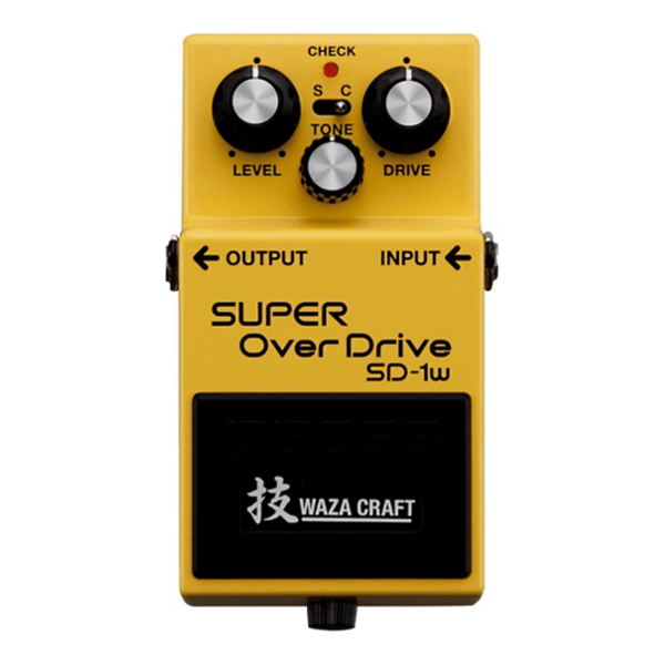 Rent Boss SD-1W SUPER OverDrive Waza Craft
