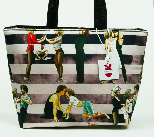 Dirty Dancing Tote - Mambo Stripe Canvas Tote Bag