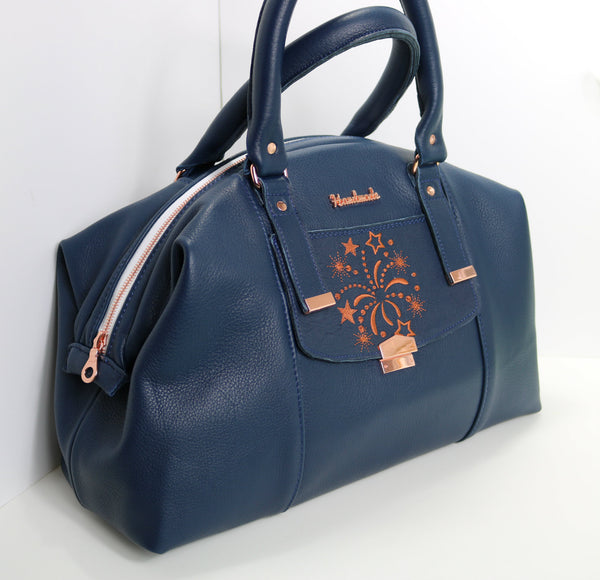 Castell Blue Leather