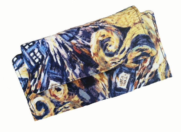Ladies Slim Wallet Exploding Tardis