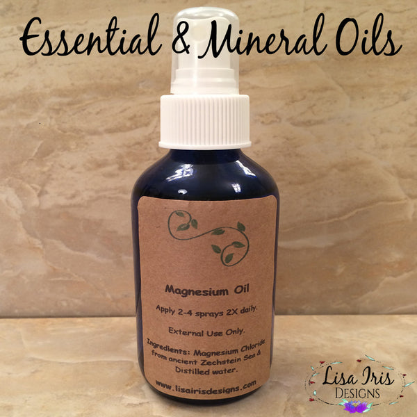 Essential And Mineral Oils