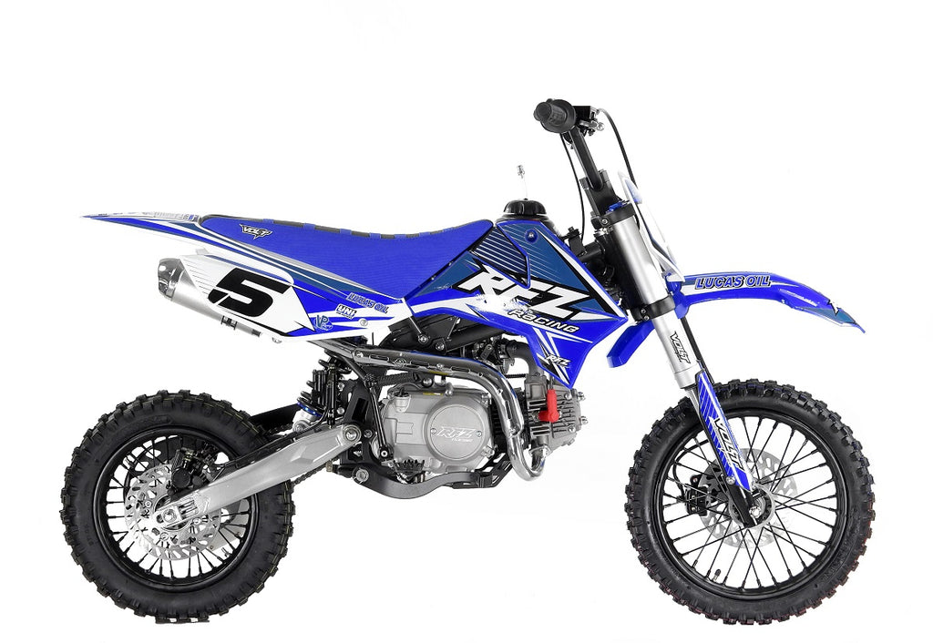 "NEW 110cc Pro Start RFZ Racing™ Semi Auto Pit Bike 14/12"" - MotoX1-Motocross ATV"