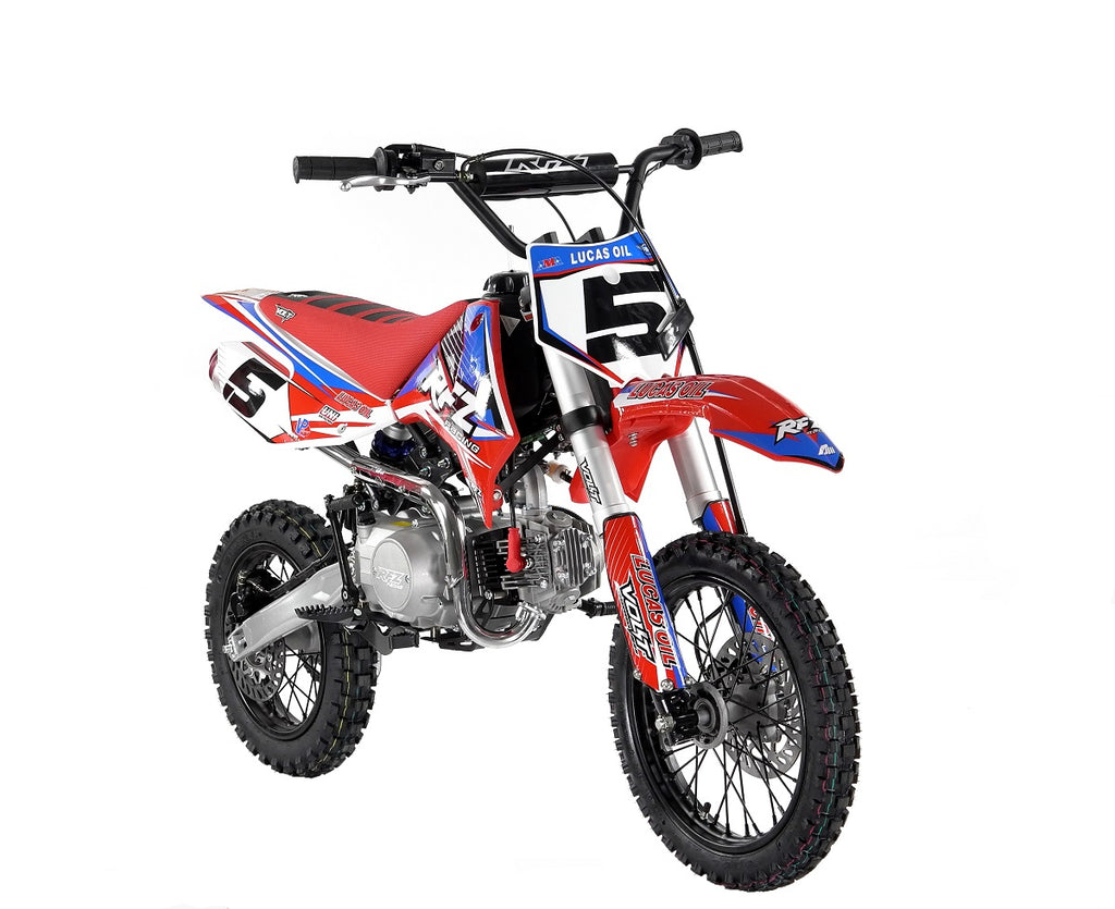 "NEW 110cc Pro Start RFZ Racing™ Semi Auto Pit Bike 14/12"" - MotoX1 Motocross ATV"