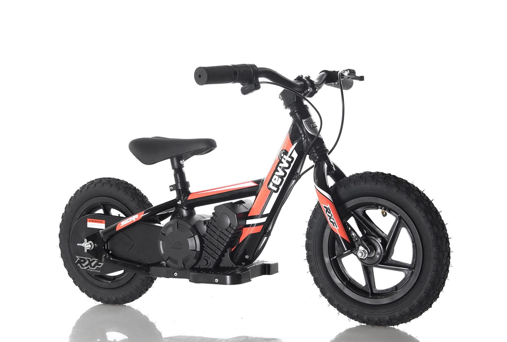 "FEBRUARY PRE ORDER -  12"" Kids Electric Bike - RED - MotoX1 Motocross ATV"