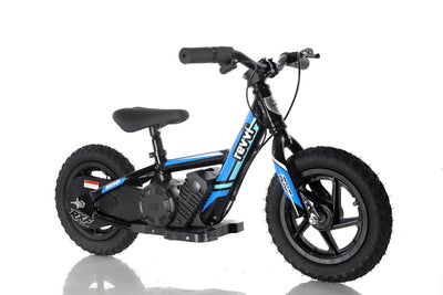 "PRE ORDER MID AUGUST - Revvi 12"" Kids Electric Bike - Blue - MotoX1-Motocross ATV"