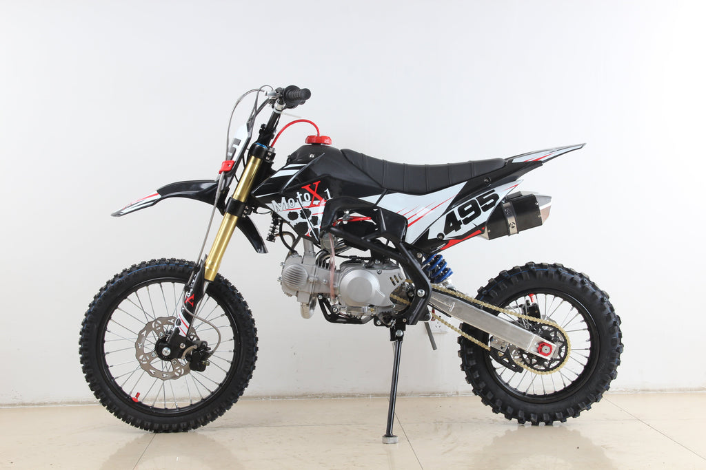 PRE ORDER MARCH 2021 - MotoX1 YX-140R 140cc Pitbike Dirtbike Black Edition - MotoX1-Motocross ATV