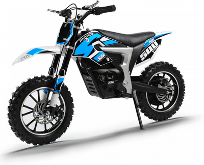 PRE ORDER OCTOBER - XTM PRO-RIDER 36V 500W LITHIUM DIRT BIKE - BLUE - MotoX1-Motocross ATV