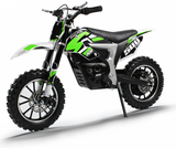 PRE ORDER SEPTEMBER - XTM PRO-RIDER 36V 500W LITHIUM DIRT BIKE - GREEN - MotoX1-Motocross ATV