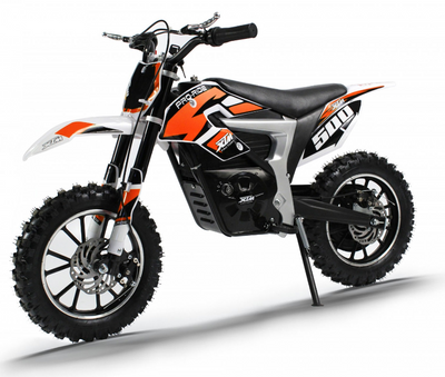 PRE ORDER SEPTEMBER - XTM PRO-RIDER 36V 500W LITHIUM DIRT BIKE - ORANGE - MotoX1-Motocross ATV
