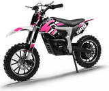 PRE ORDER SEPTEMBER - XTM PRO-RIDER 36V 500W LITHIUM DIRT BIKE - PINK - MotoX1-Motocross ATV