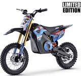 XTM MX-PRO 48V 1300W BIG WHEEL LITHIUM DIRT BIKE - BLUE - MotoX1-Motocross ATV
