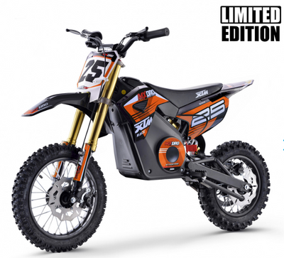 PRE ORDER OCTOBER - XTM MX-PRO 48V 1300W BIG WHEEL LITHIUM DIRT BIKE - ORANGE - MotoX1-Motocross ATV