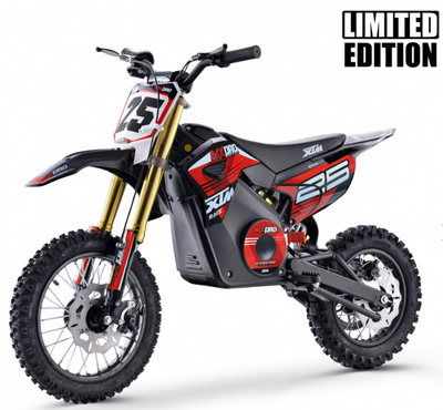 XTM MX-PRO 48V 1300W BIG WHEEL LITHIUM DIRT BIKE - RED - MotoX1-Motocross ATV