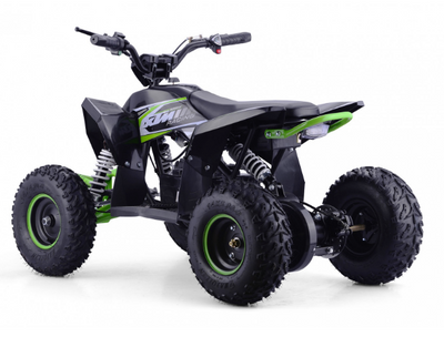 CHRISTMAS PRE ORDER - NEW XTM RACING 1000W QUAD BIKE - GREEN - MotoX1-Motocross ATV