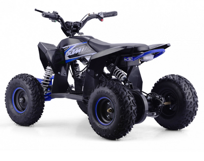 CHRISTMAS PRE ORDER - NEW XTM RACING 1000W QUAD BIKE - BLUE - MotoX1-Motocross ATV