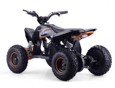 CHRISTMAS PRE ORDER - NEW XTM RACING 1000W QUAD BIKE - ORANGE - MotoX1-Motocross ATV