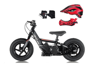 "PRE ORDER JULY - Revvi 12"" Kids Electric Balance Bike - BUNDLE OFFER! - MotoX1-Motocross ATV"