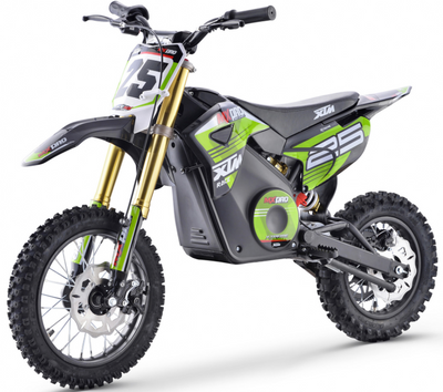 PRE ORDER SEPTEMBER - XTM NEW MX-PRO 36V 1100W LITHIUM DIRT BIKE PIT BIKE - GREEN - MotoX1-Motocross ATV