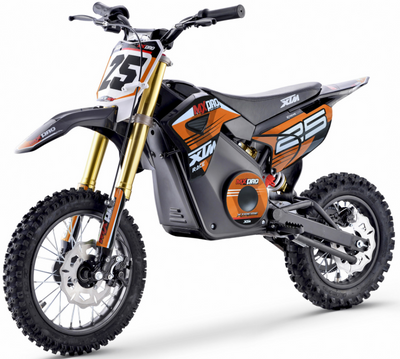 PRE ORDER SEPTEMBER - XTM NEW MX-PRO 36V 1100W LITHIUM DIRT BIKE PIT BIKE - ORANGE - MotoX1-Motocross ATV