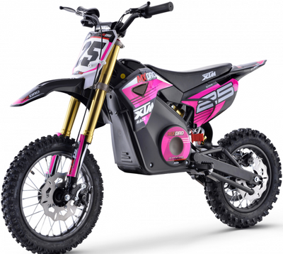 PRE ORDER SEPTEMBER - XTM NEW MX-PRO 36V 1100W LITHIUM DIRT BIKE PIT BIKE - PINK - MotoX1-Motocross ATV