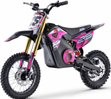 XTM NEW MX-PRO 36V 1100W LITHIUM DIRT BIKE PIT BIKE - PINK - MotoX1-Motocross ATV