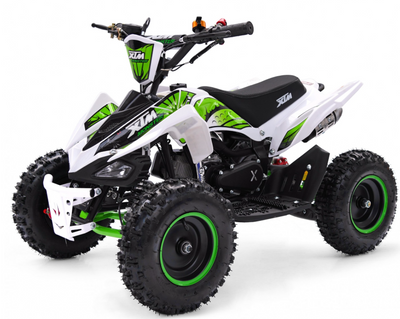 XTM MONSTER 50CC QUAD BIKE - GREEN - MotoX1-Motocross ATV