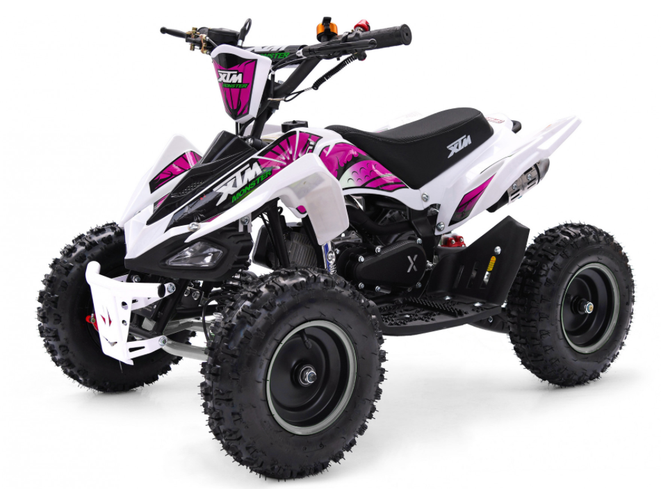 XMAS PRE ORDER - XTM MONSTER 50CC QUAD BIKE - PINK - MotoX1-Motocross ATV