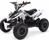 XMAS PRE ORDER - XTM MONSTER 50CC QUAD BIKE - BLUE - MotoX1-Motocross ATV