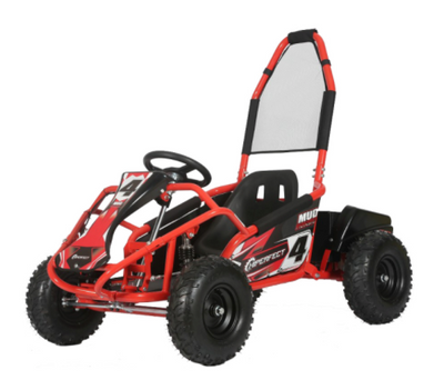 Mud Monster 1000w 20ah 48v Kids Electric Go Kart - MotoX1 Motocross ATV
