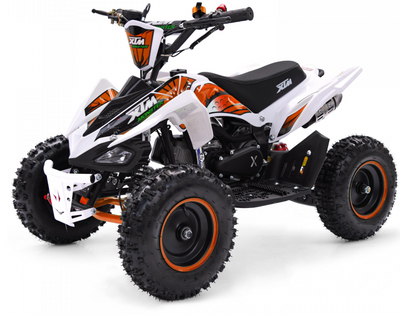 XMAS PRE ORDER - XTM MONSTER 50CC QUAD BIKE - ORANGE - MotoX1-Motocross ATV