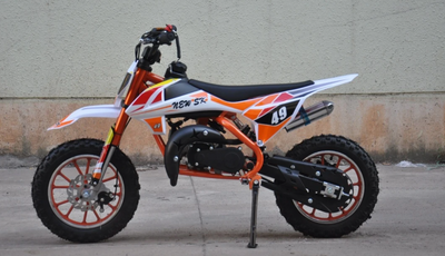 NEW 50cc Mini Dirt Bike - MBO 49 - MotoX1 Motocross ATV
