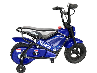 Torqi E-250 Kids Monkey Bike - BLUE - MotoX1-Motocross ATV