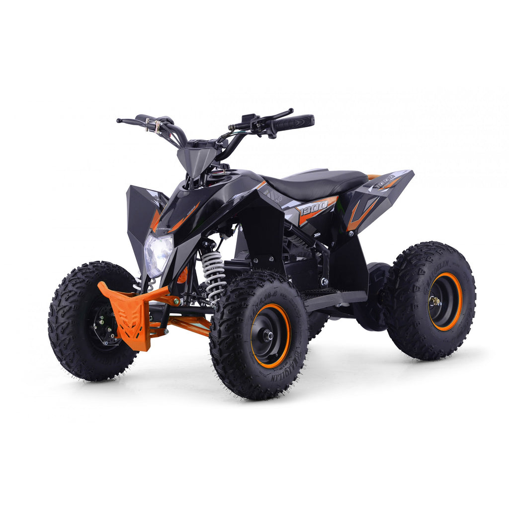 PRE ORDER -AUGUST- XTM RACING 48V 1300W LITHIUM QUAD BIKE - ORANGE - MotoX1-Motocross ATV
