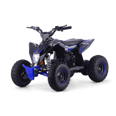 CHRISTMAS PRE ORDER - XTM RACING 48V 1300W LITHIUM QUAD BIKE - BLUE - MotoX1-Motocross ATV