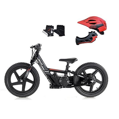 "Revvi Junior 16"" Electric Balance bike (Big wheel) -BUNDLE - MotoX1-Motocross ATV"