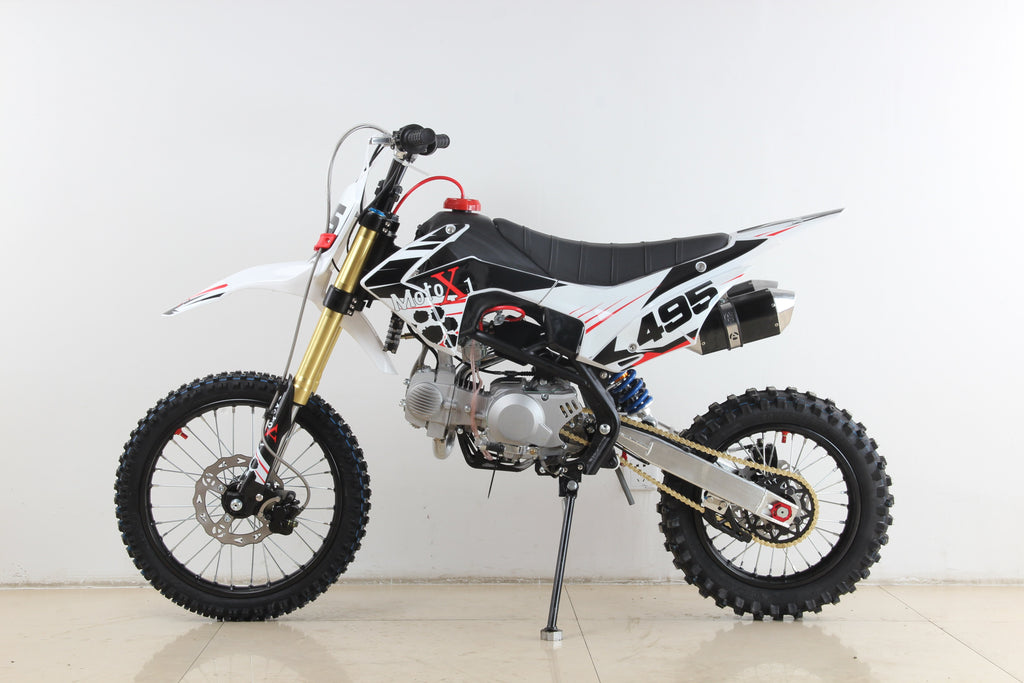 PRE ORDER - 10TH AUGUST -NEW 2020 MotoX1 YX-140R 140cc Pitbike Dirtbike White Edition - MotoX1-Motocross ATV