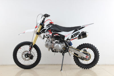 PRE ORDER - 10TH AUGUST -NEW 2020 MotoX1 YX-140R 140cc Pitbike Dirtbike White Edition - MotoX1 Motocross ATV