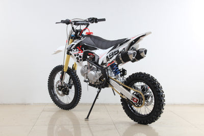 PRE ORDER MAY 2021 - MotoX1 YX-140R 140cc Pitbike Dirtbike White Edition - MotoX1 Motocross ATV