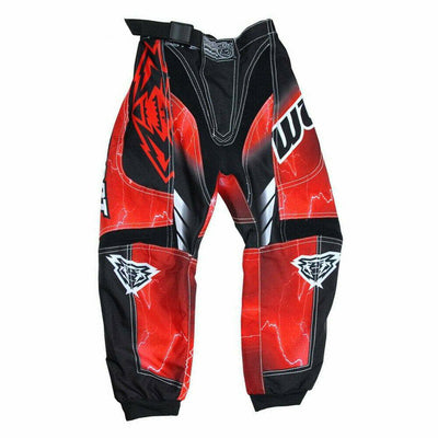 Wulfsports Cub Forte Race Suit Kids Children Motocross Trouser Pants - RED - MotoX1-Motocross ATV